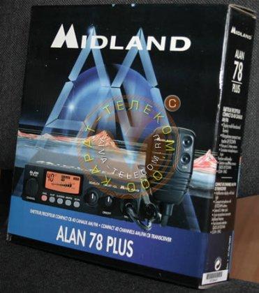 CB радиостанция Alan 78 plus.
