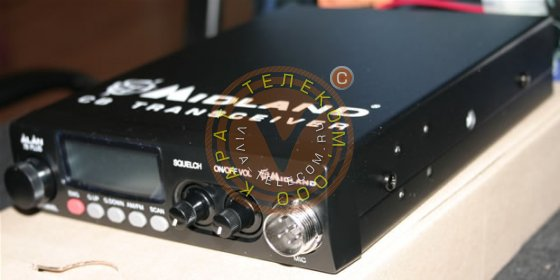 Автомобильная радиостанция Alan 78 plus.