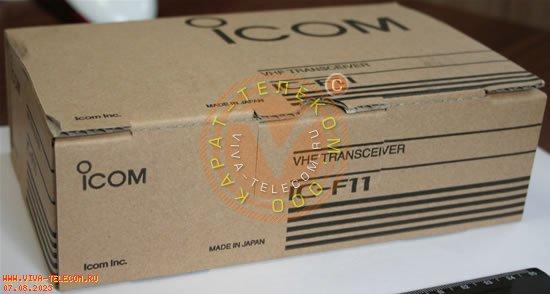 Радиостанция портативная Icom IC-F11.  Внешняя упаковка радиостанции.