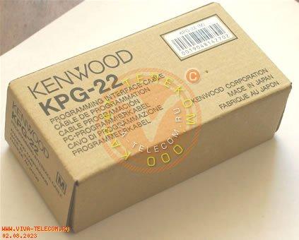 KENWOOD KPG-22 - кабель для программирования носимых радиостанций Kenwood.