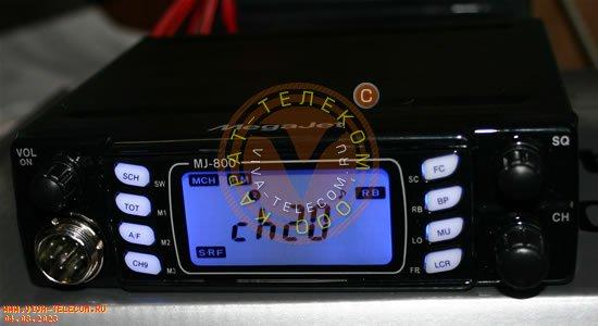СИ-БИ радиостанция MegaJET MJ-800.