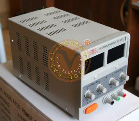 Hy3003s-2 лабораторный блок питания 0-30в/3ax2