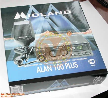 Радиостанция Alan 100 plus.  Внешняя упаковка.